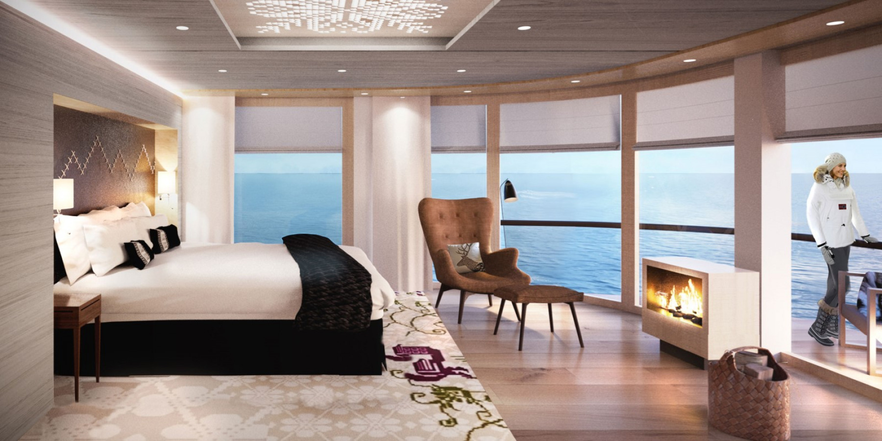 Hurtigruten MS Roald Amundsen Accommodation Corner Suite.jpg