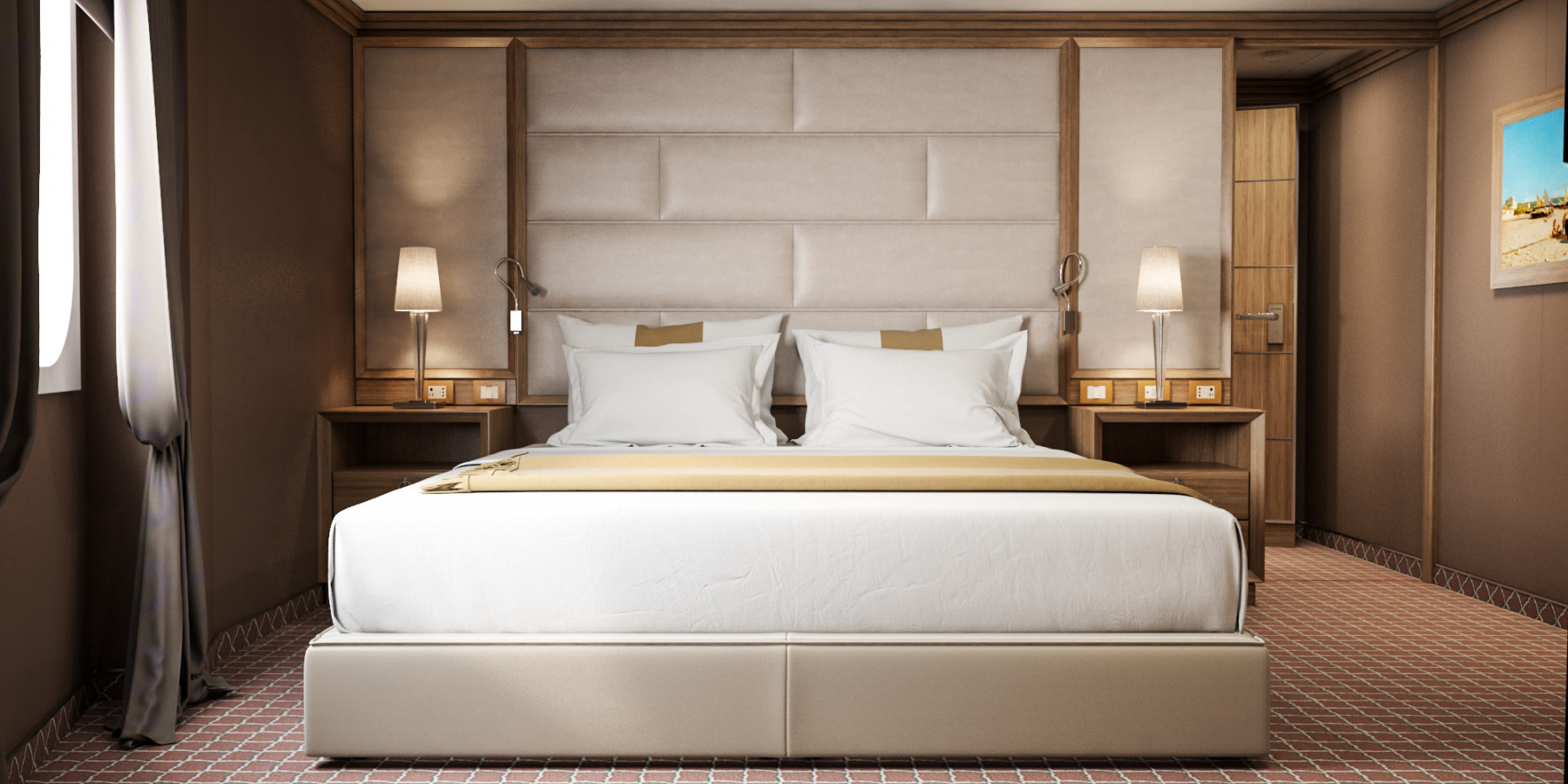 Silversea Cruises Silver Muse Accommodation Grand Suite Bedroom.jpg