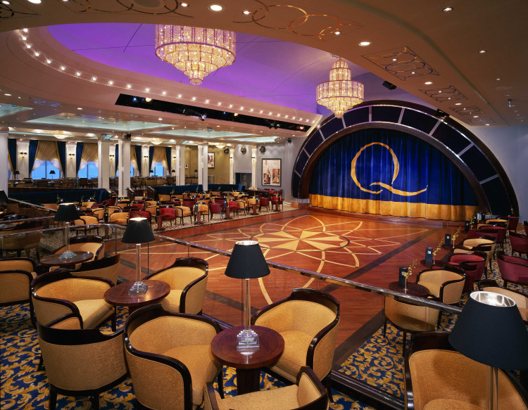Cunard Line Queen Mary 2 Queens Room 2.JPG
