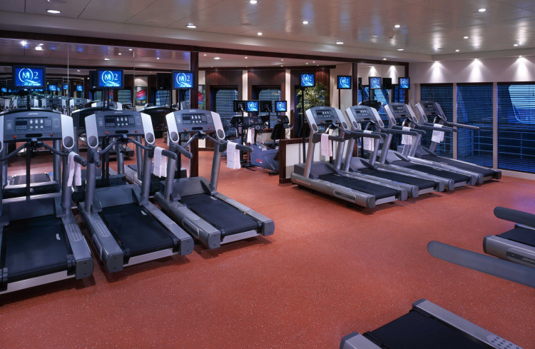 Cunard Line Queen Mary 2 Fitness Centre 1.JPG
