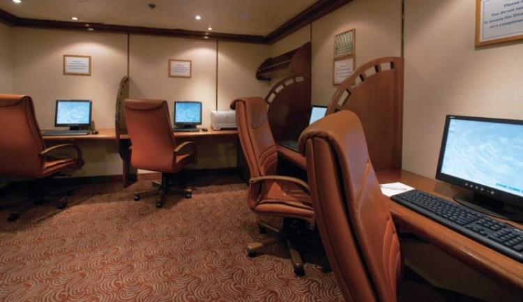 Silversea Cruises Silver Spirit Interior Internet Cafe.jpg