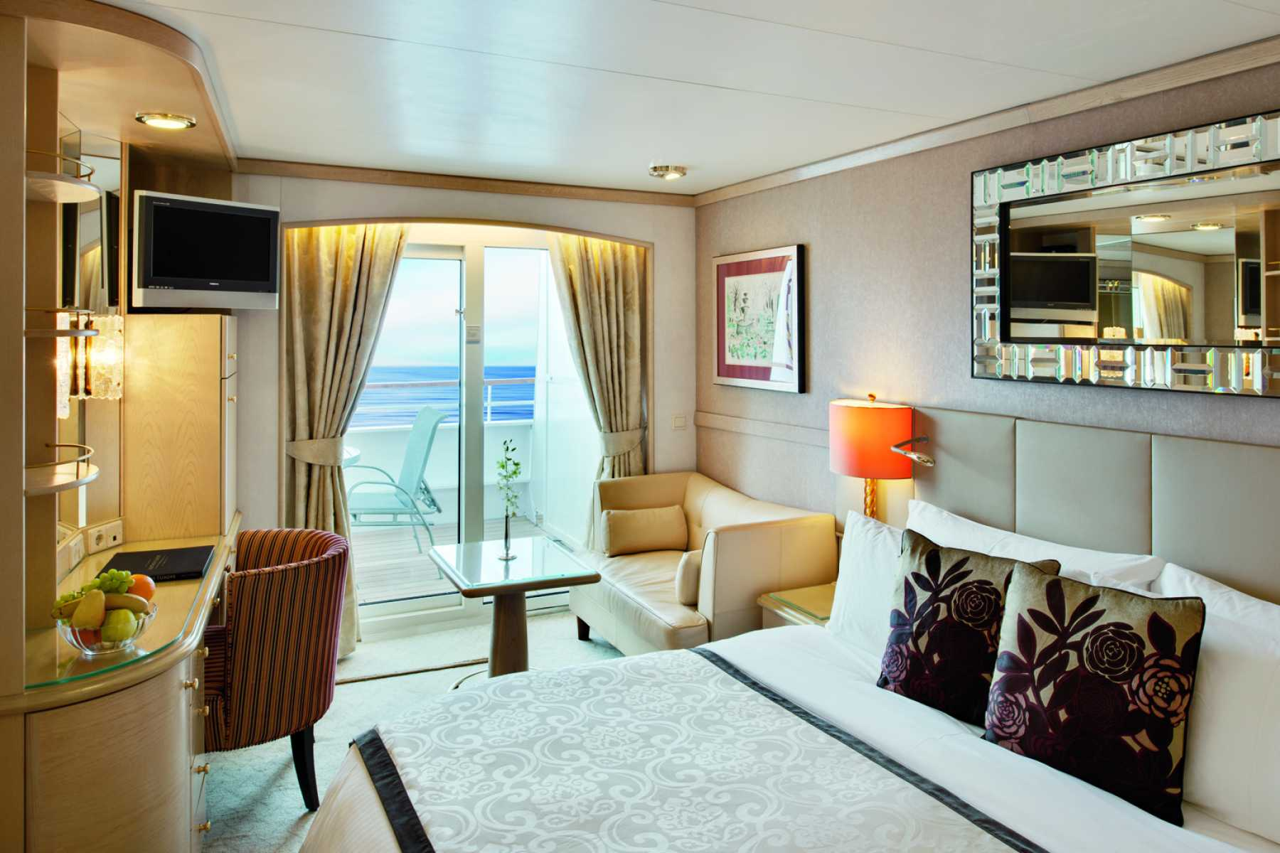 Crystal Cruises Crystal Symphony Accommodation Deluxe Stateroom with Verandah.jpg