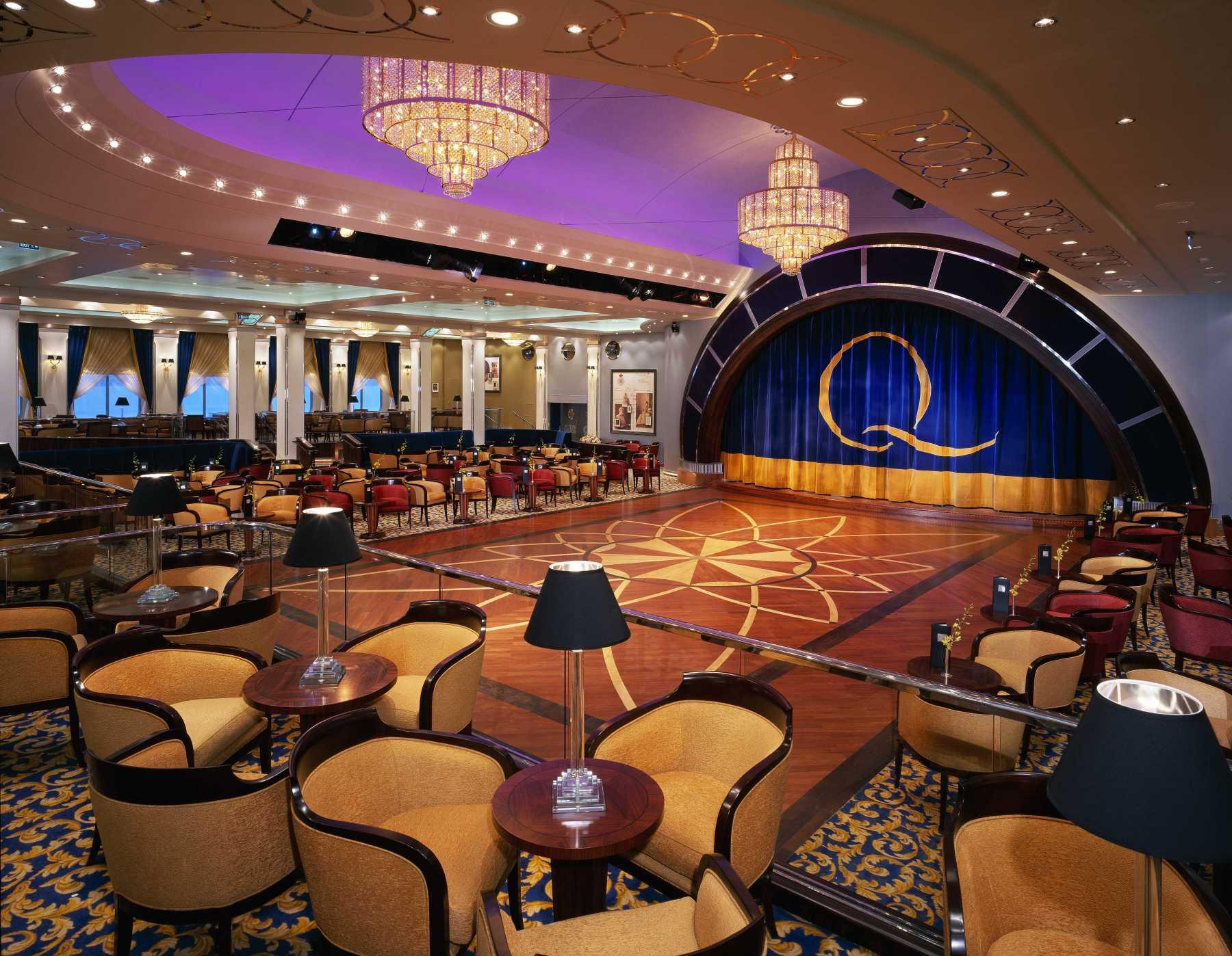 Cunard Line Queen Mary 2 Queens Room 2.JPG