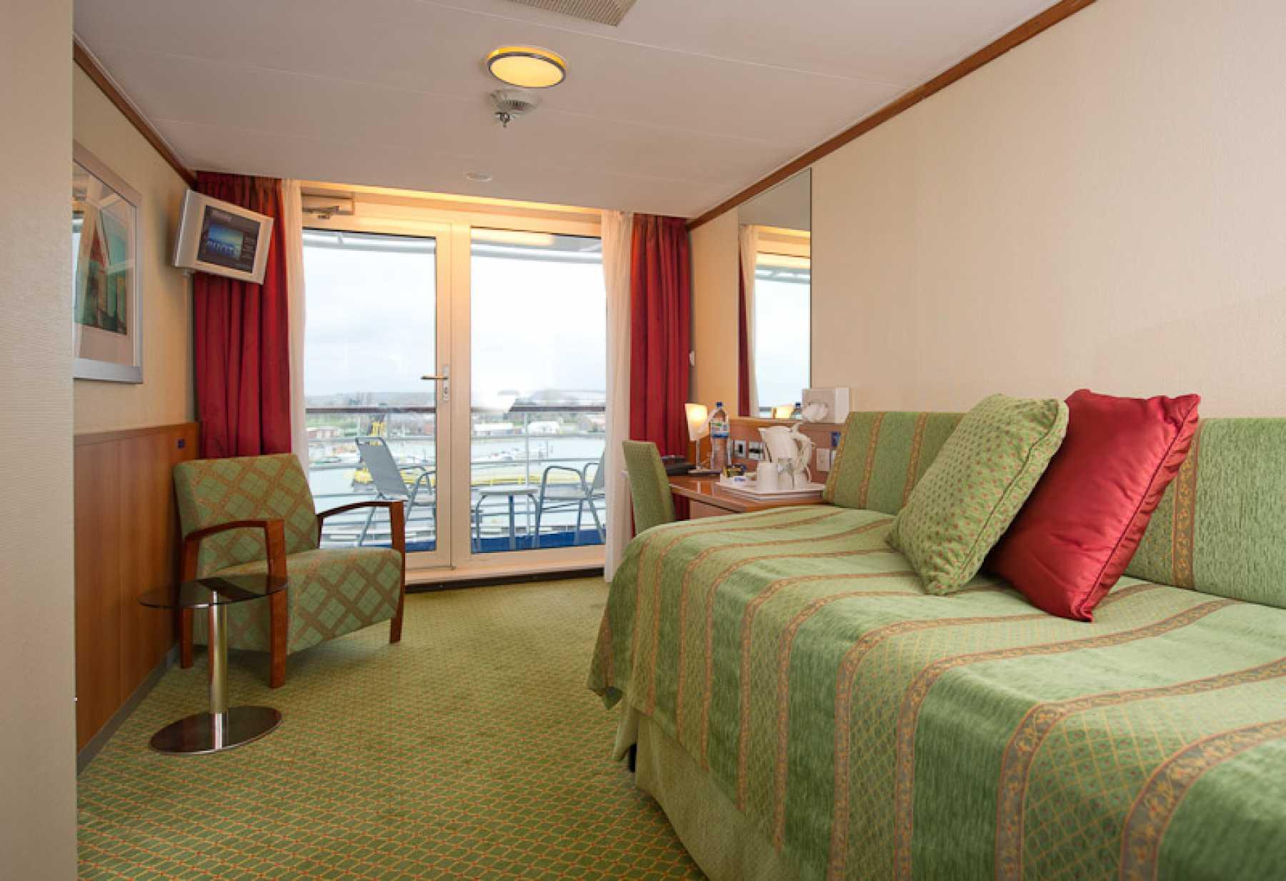 Fred Olsen Cruise Line Boudicca Accommodation Superior Single Balcony Cabin 2.jpg