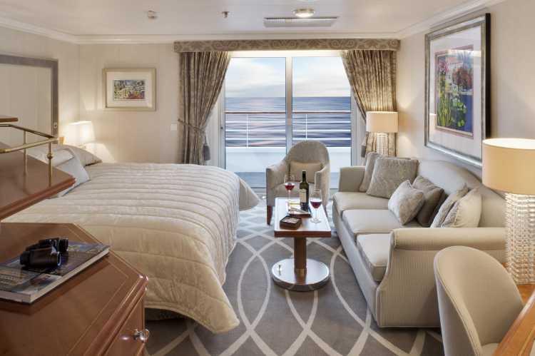 Crystal Cruises Crystal Symphony Accommodation Penthouse Bedroom Window.jpg