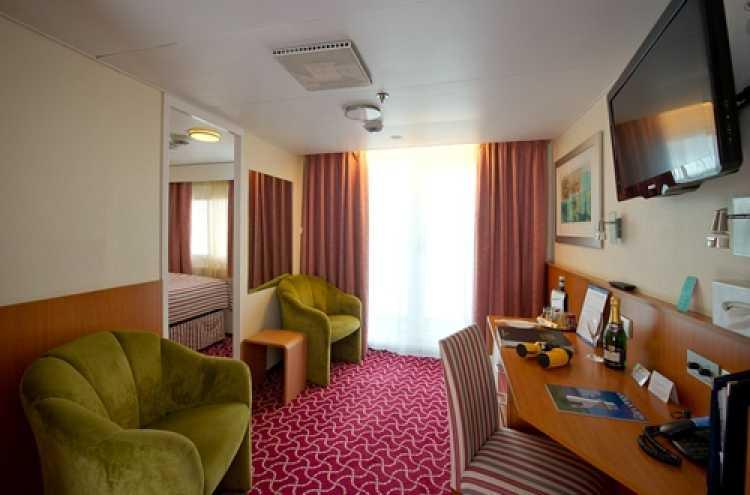 Fred Olsen Cruise Line Boudicca Accommodation Single Balcony Suite 2.jpg