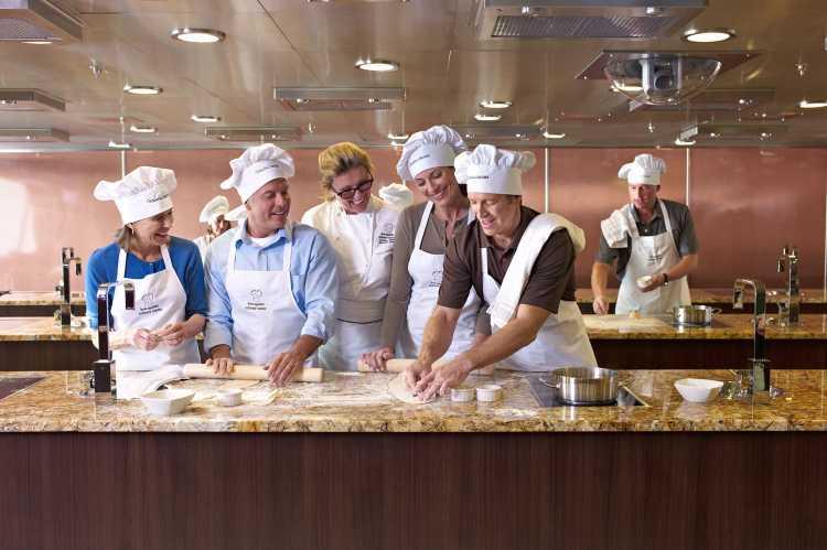 Oceania Cruises Oceania Class Interior Culinary Center Class.jpg