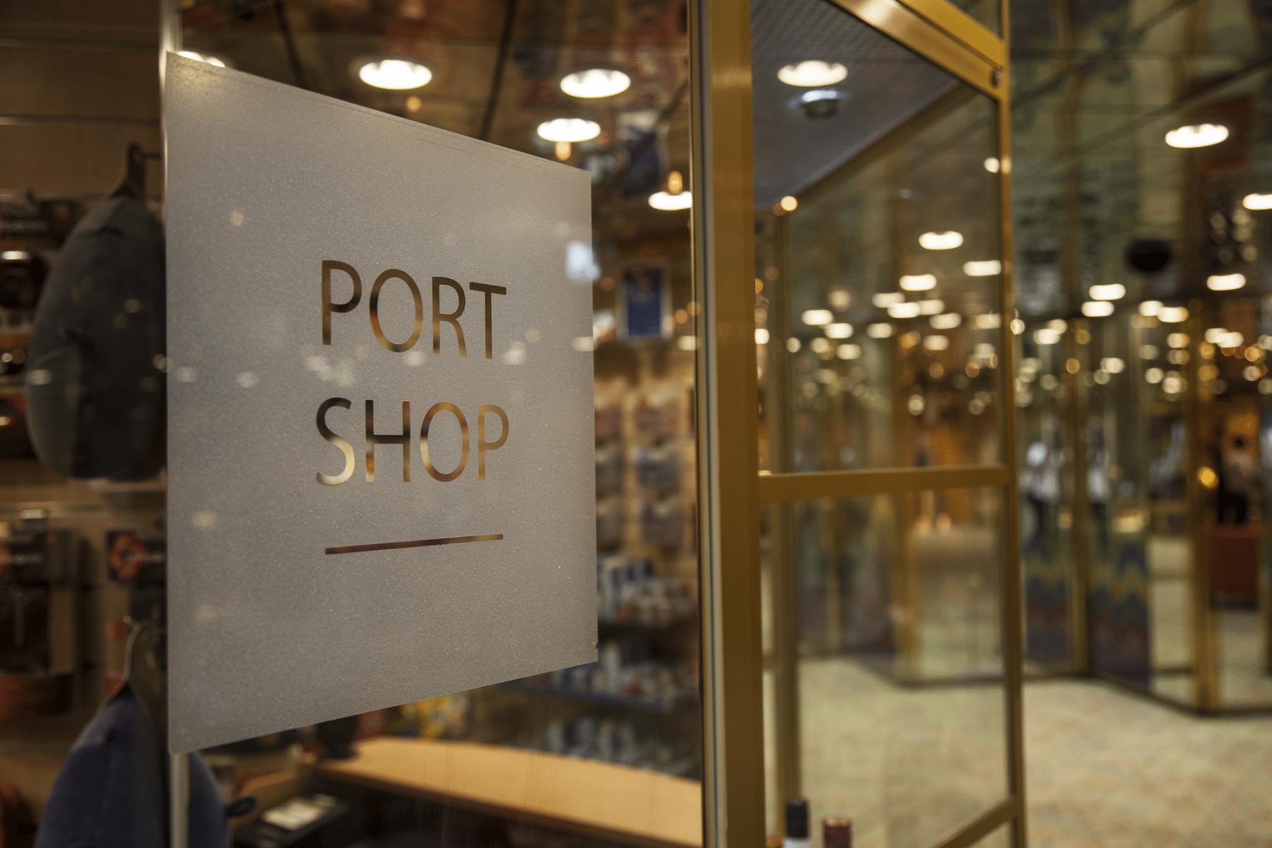 Fred Olsen Cruise Line Balmoral Interior Port Shop.png