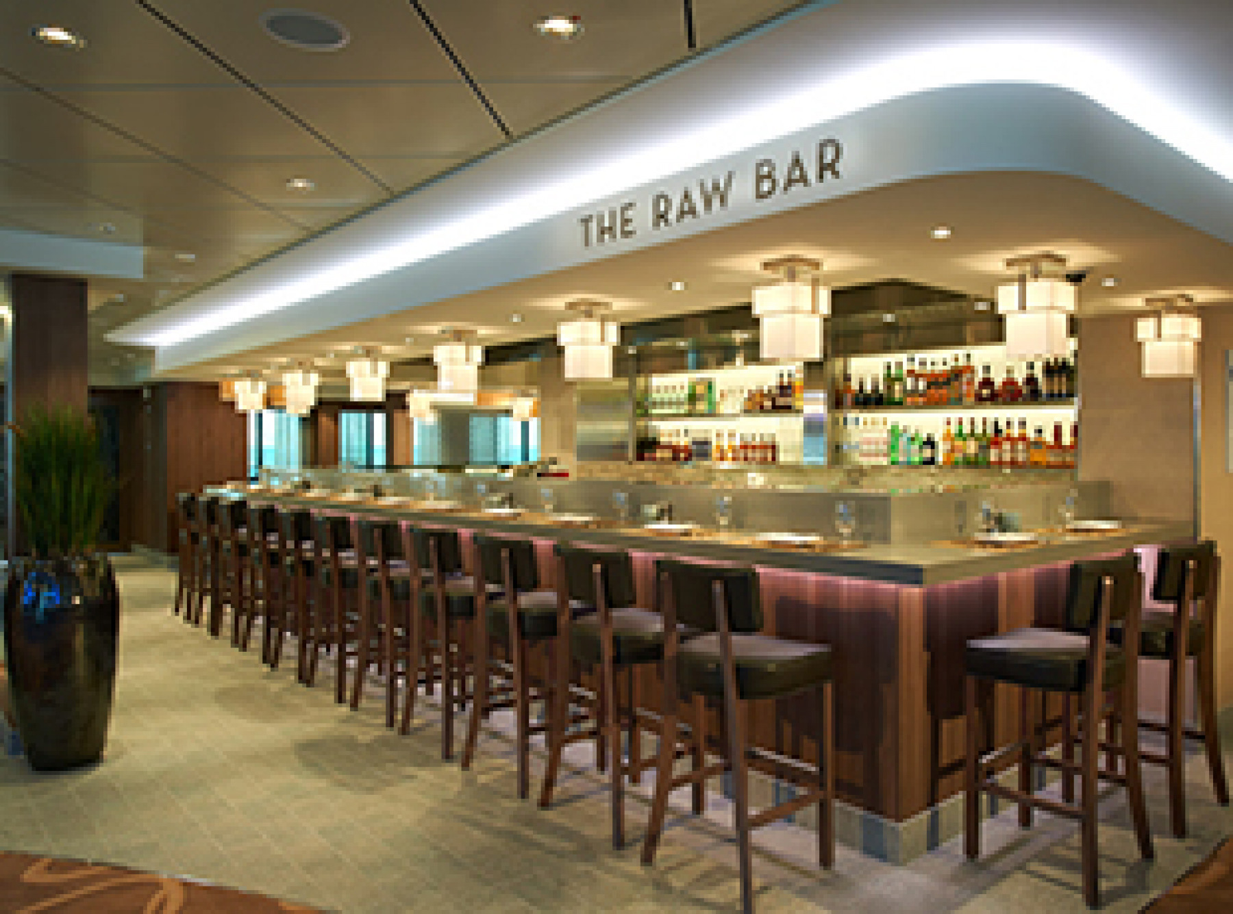 Norwegian Cruise Line Norwegian Breakaway Interior Raw Bar.jpg