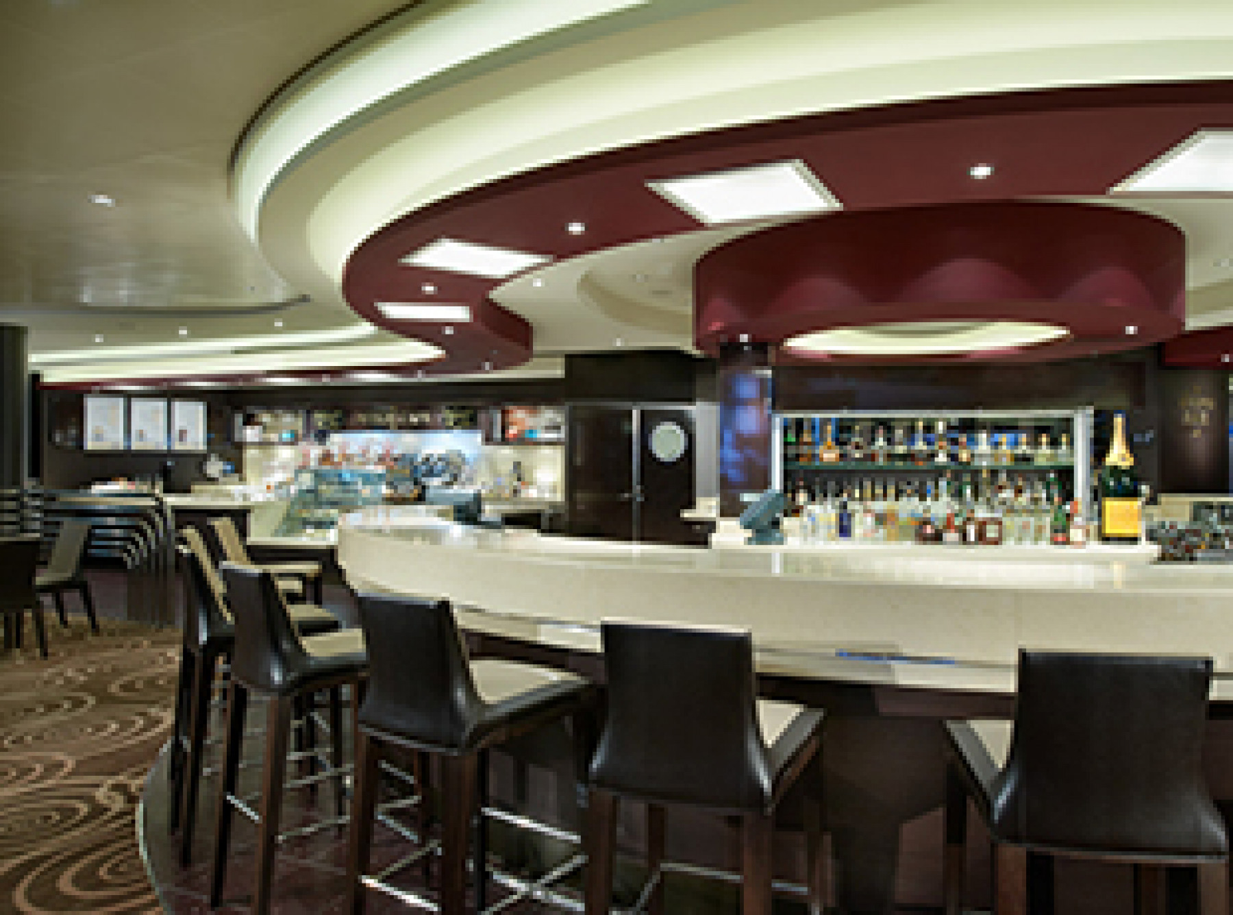 Norwegian Cruise Line Norwegian Breakaway Interior Cafe at the Atrium.jpg