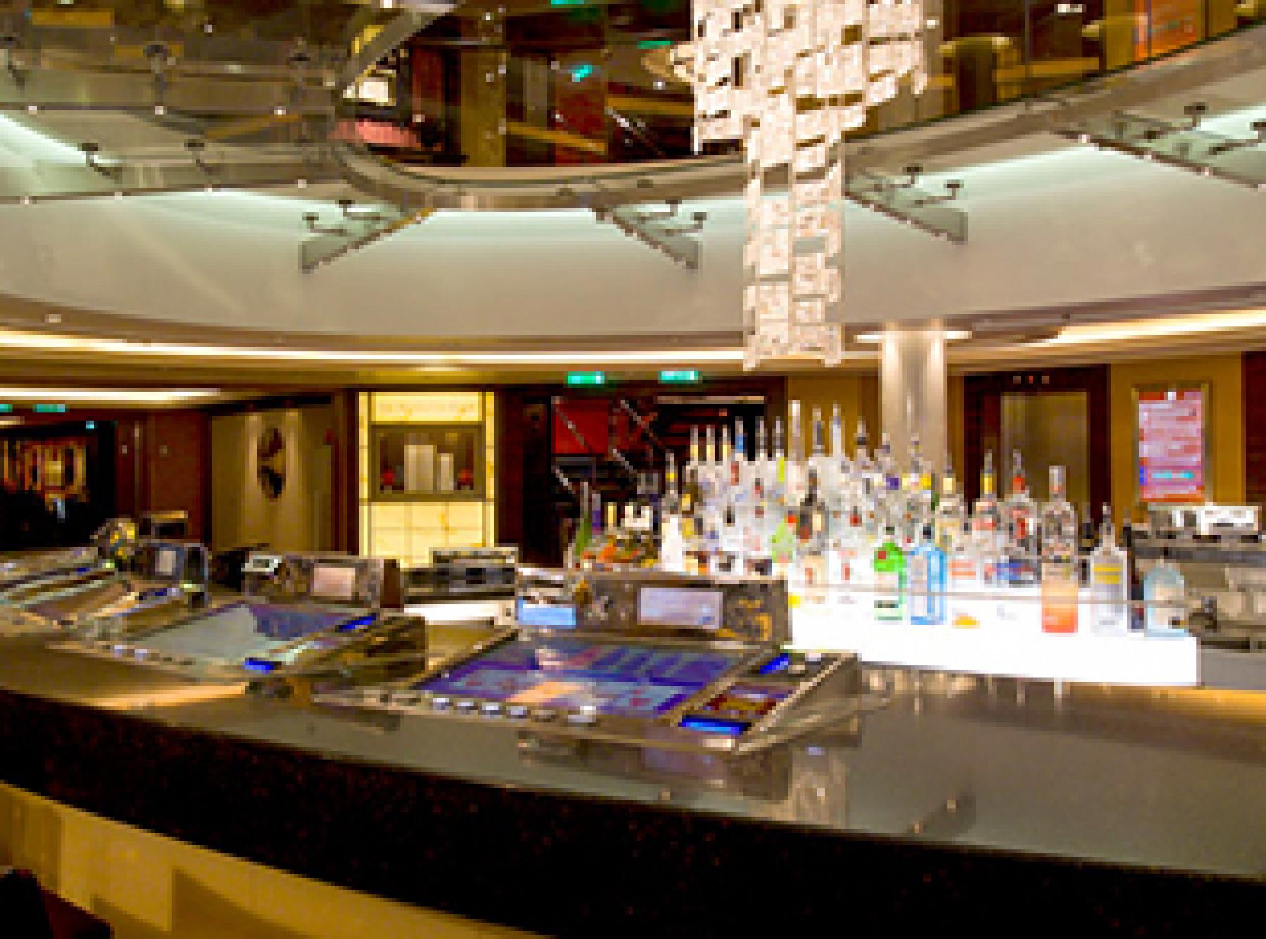 Norwegian Cruise Line Norwegian Epic Interior Cascades Bar.jpg