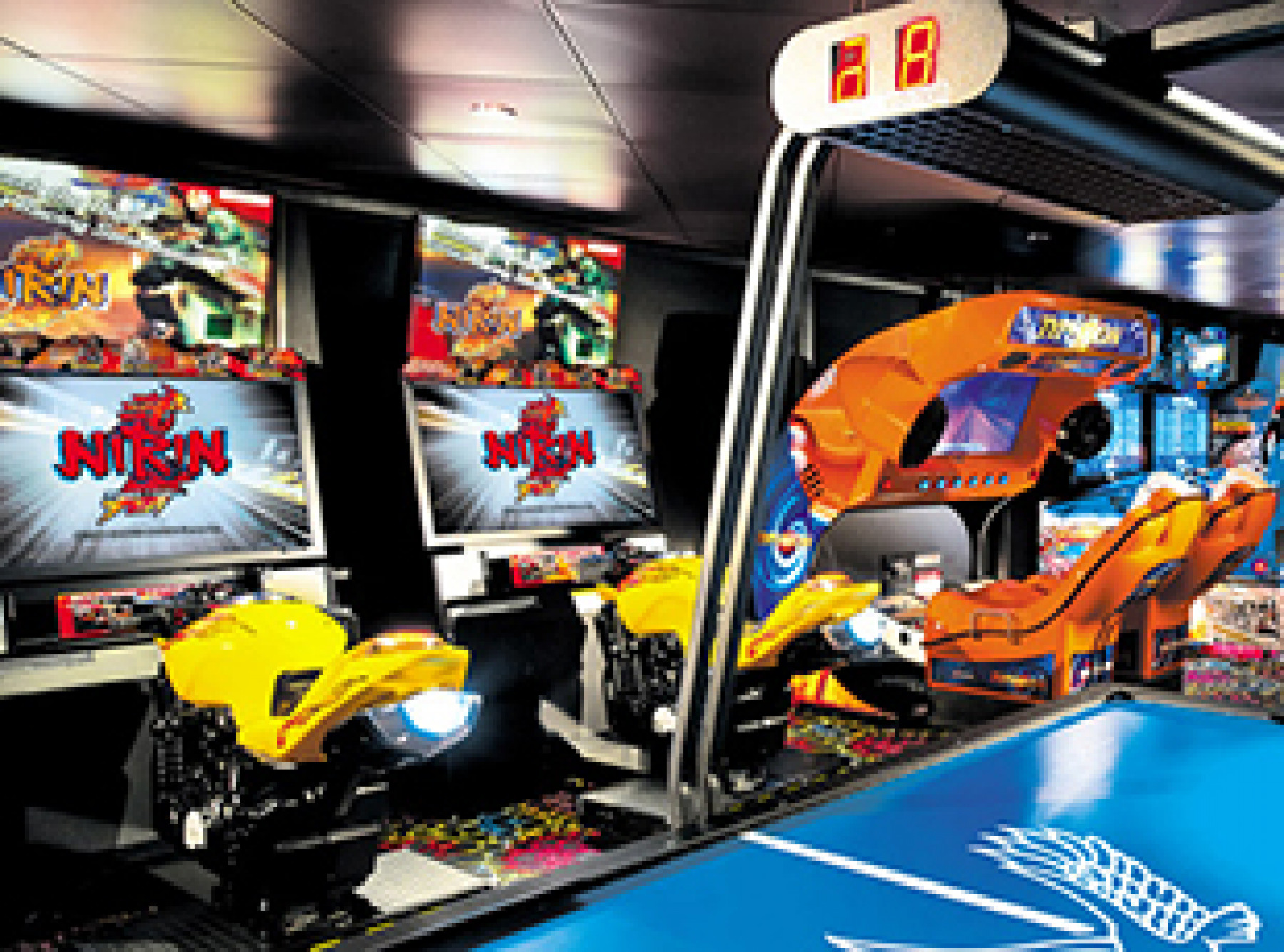 Norwegian Cruise Line Norwegian Epic Interior Video Arcade.jpg