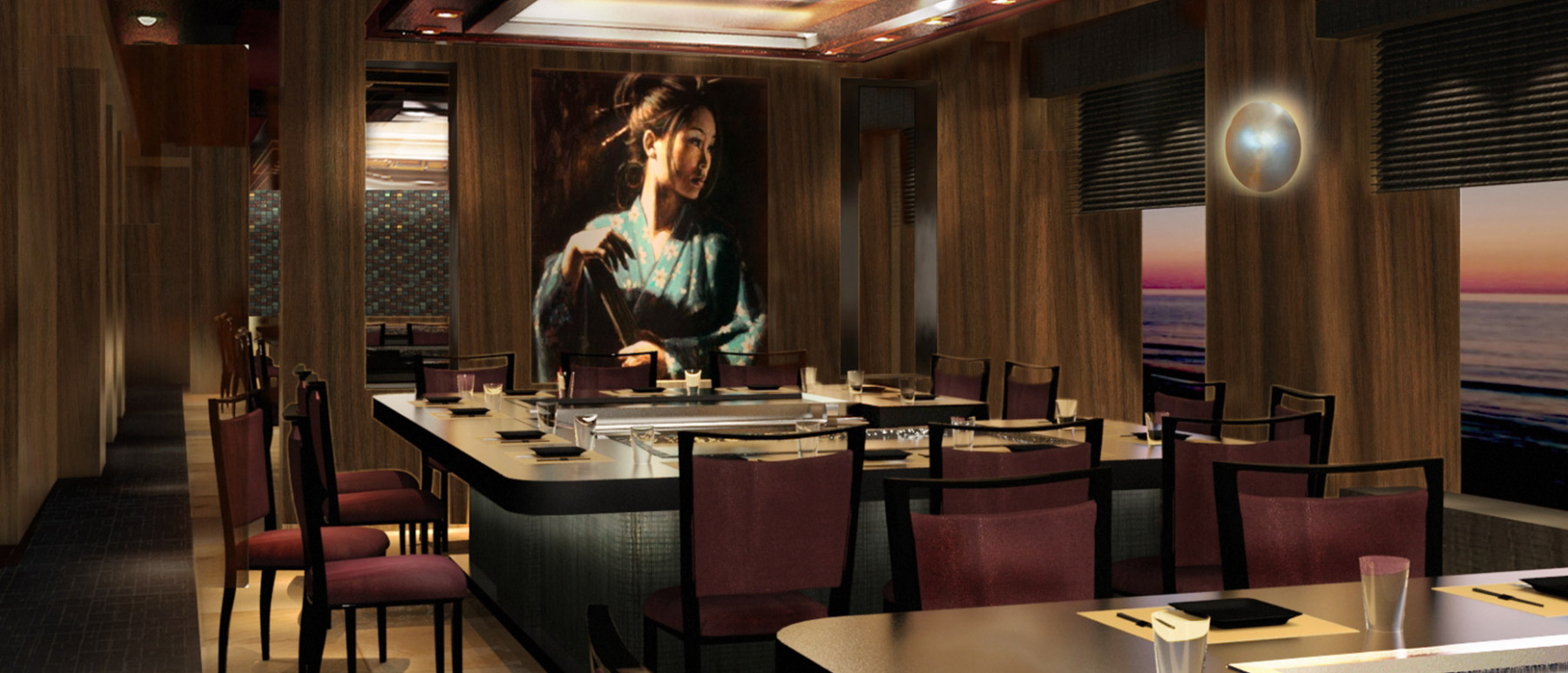 Norwegian Cruise Line Norwegian Escape Interior Teppanyaki.jpg