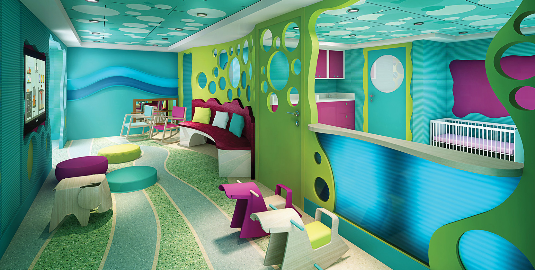 Norwegian Escape Guppies kids nursery.jpg