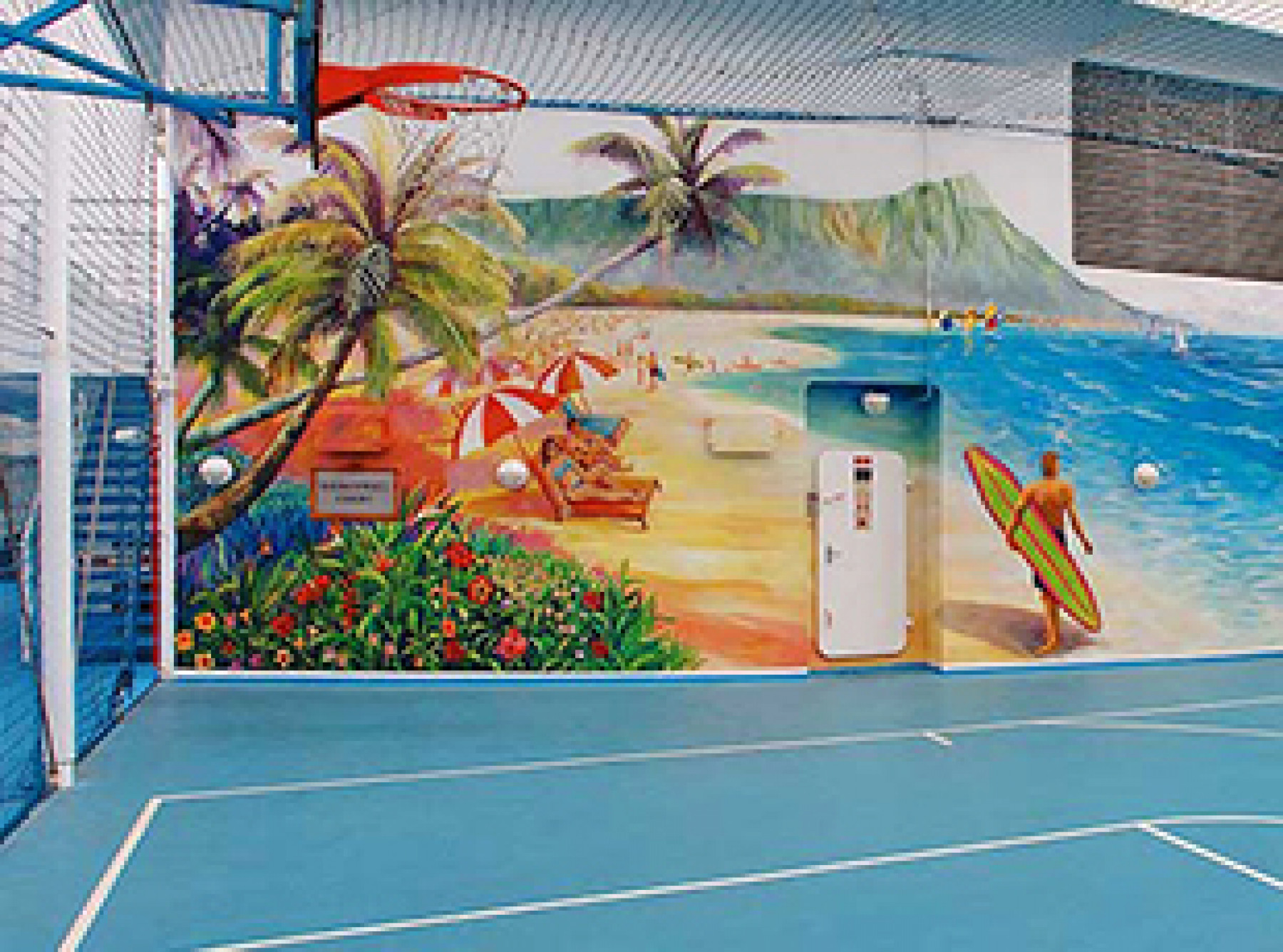 Norwegian Cruise Line Norwegian Sky Exterior Basketball:Volleyball Court.jpg