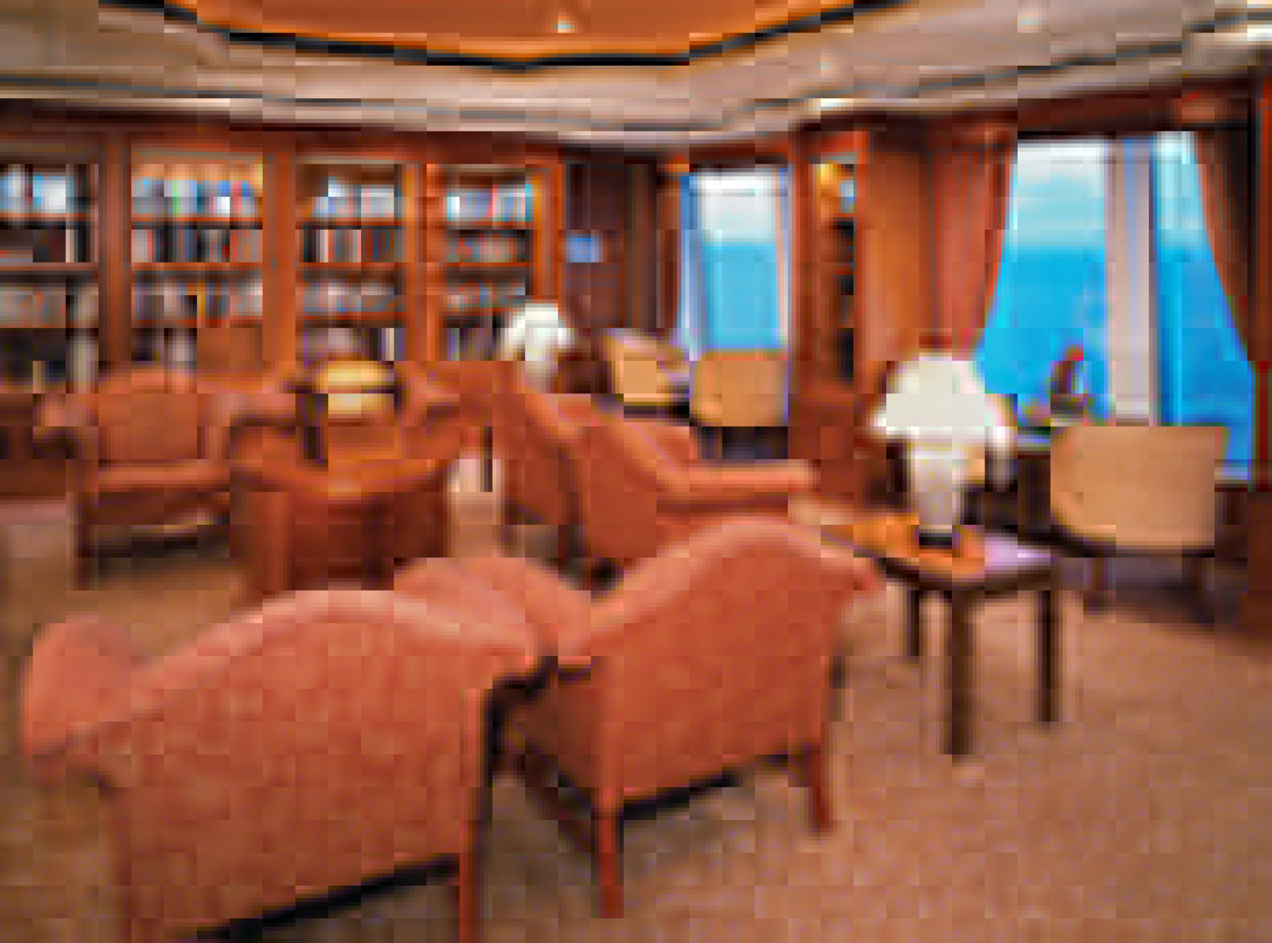 Norwegian Cruise Line Norwegian Spirit Interior Library.jpg