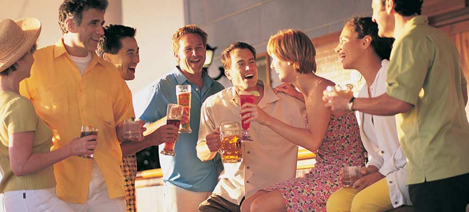 Norwegian Cruise Line Norwegian Star biergarden.jpg