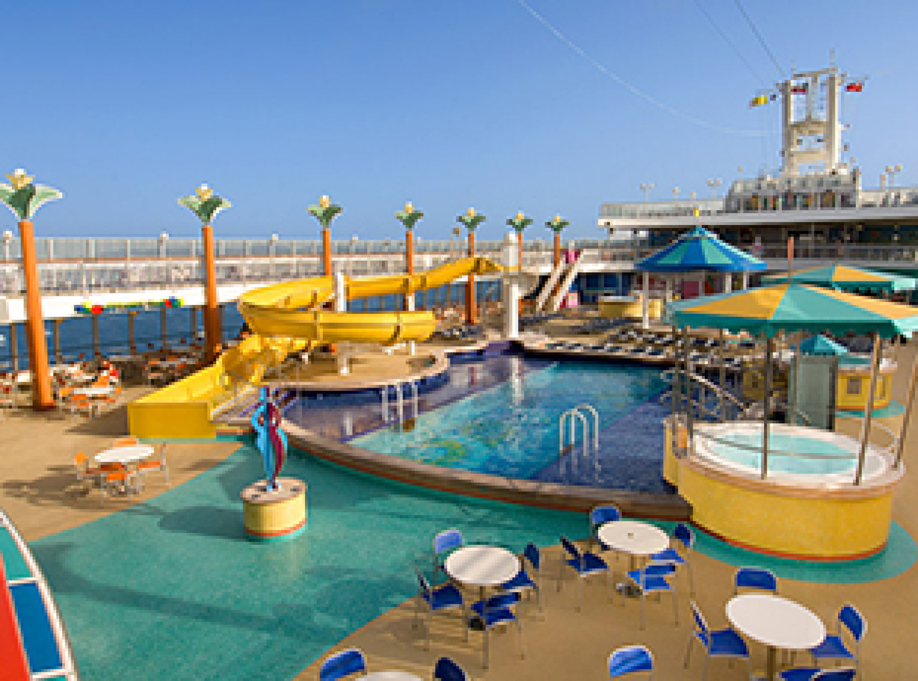 Norwegian Cruise Line Norwegian Jewel Exterior Sapphire Pools.jpg
