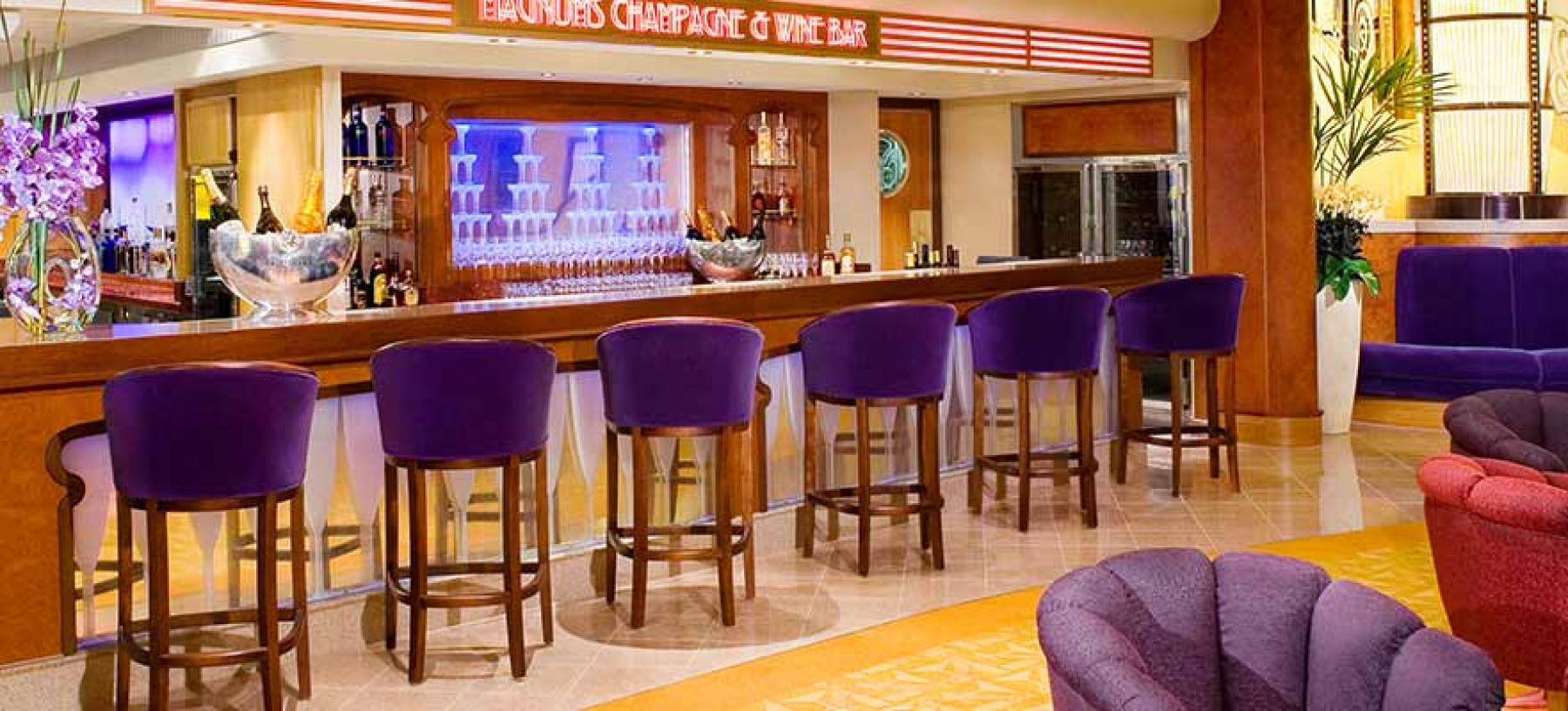 NCL Norwegian Jade Interior Magnums Champagne Bar.jpg