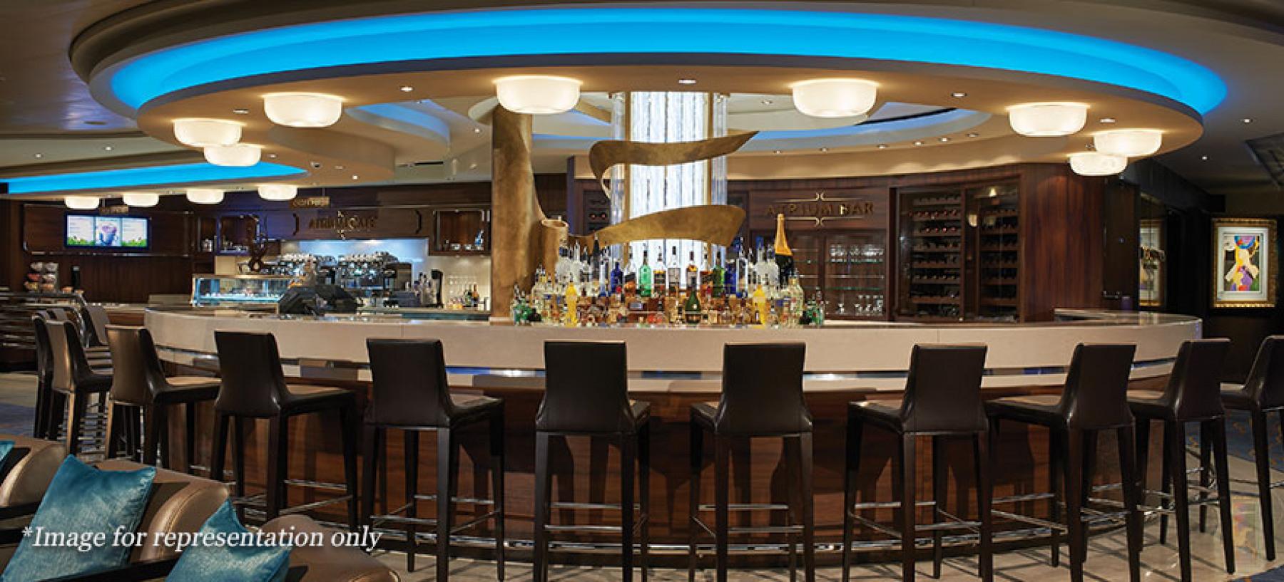 Norwegian Cruise Lines Norwegian Joy Interior Atrium Cafe and Bar.jpg
