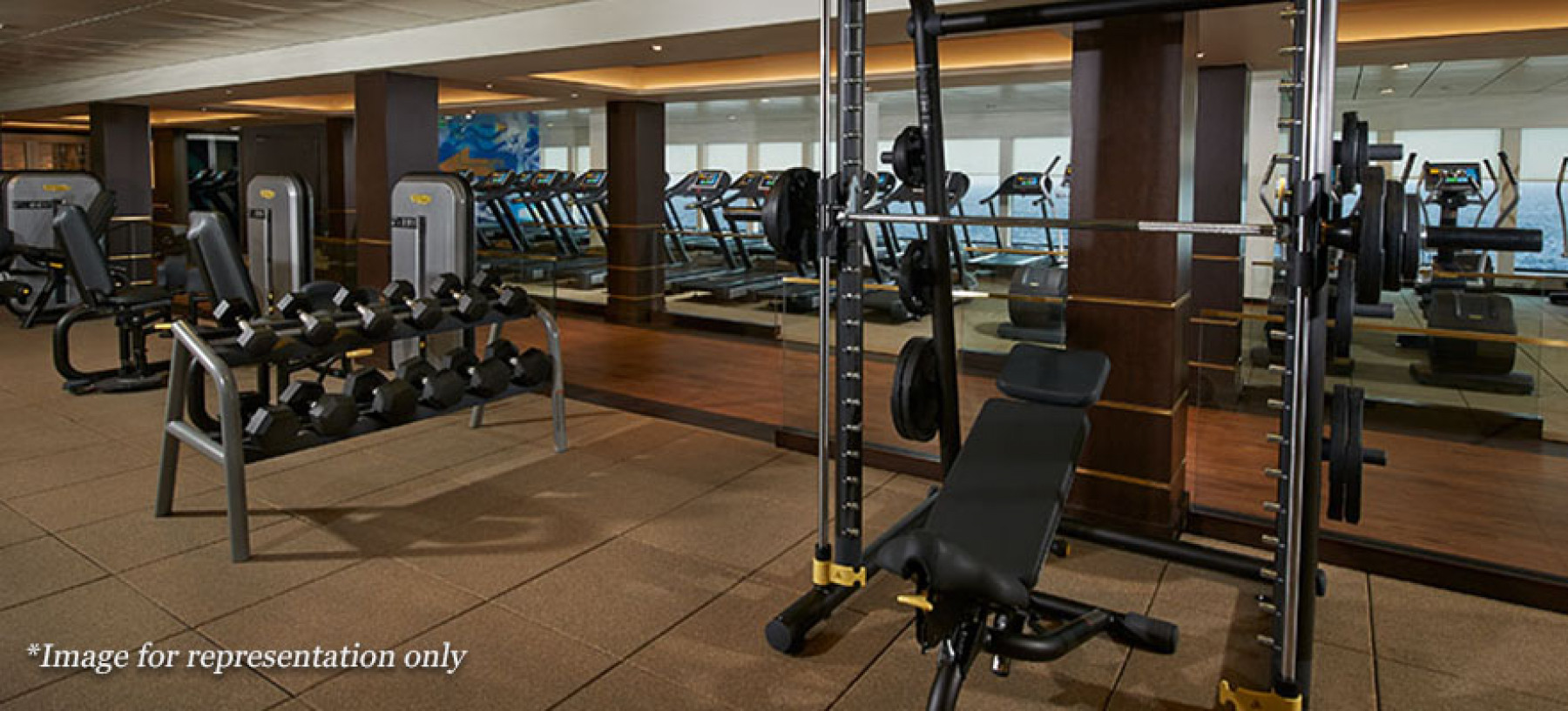 Norwegian Cruise Lines Norwegian Joy Interior Pulse Fitness Centre.jpg