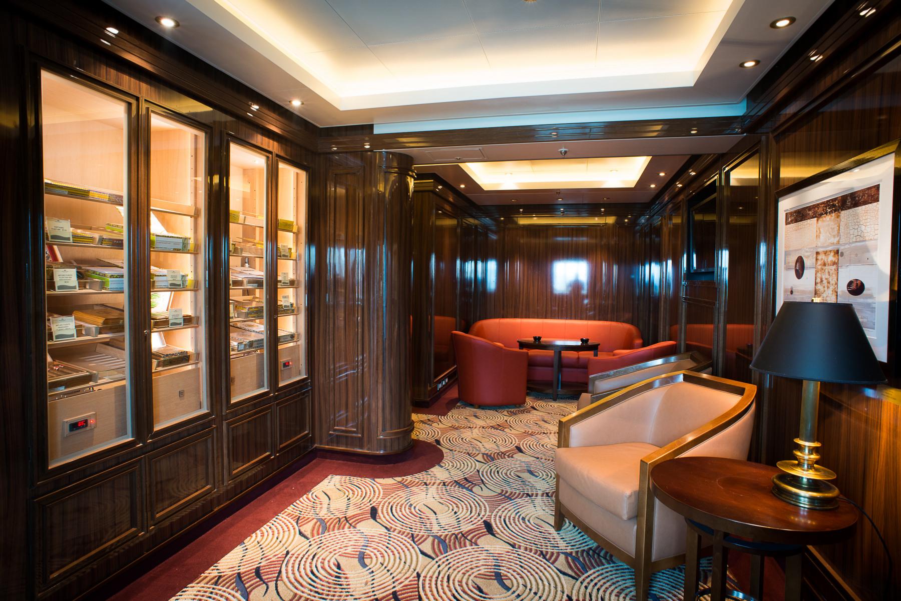 Princess Cruises Coral Class Interior cigar room.jpg