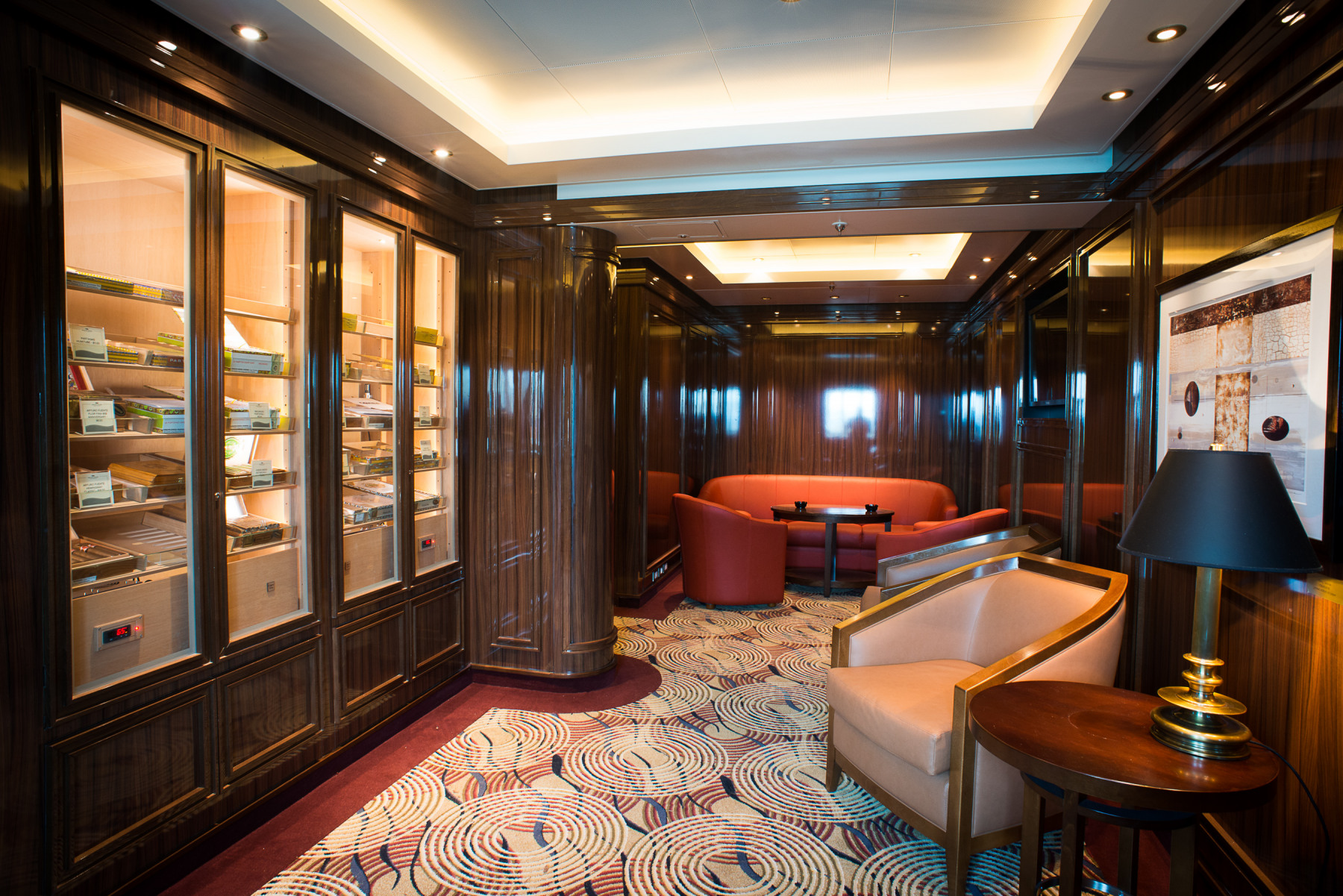 Princess Cruises Coral Class Interior cigar room.jpg