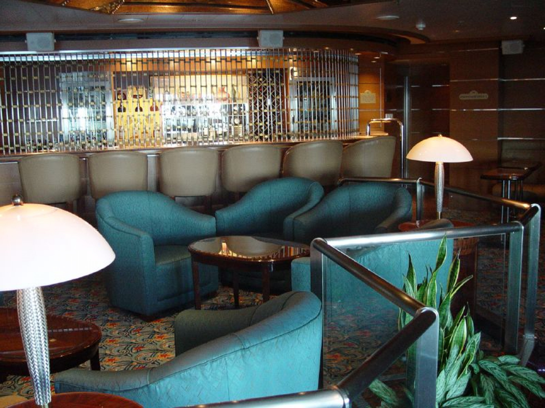 Princess Cruises Sun Class Magnums Champagne bar.jpg