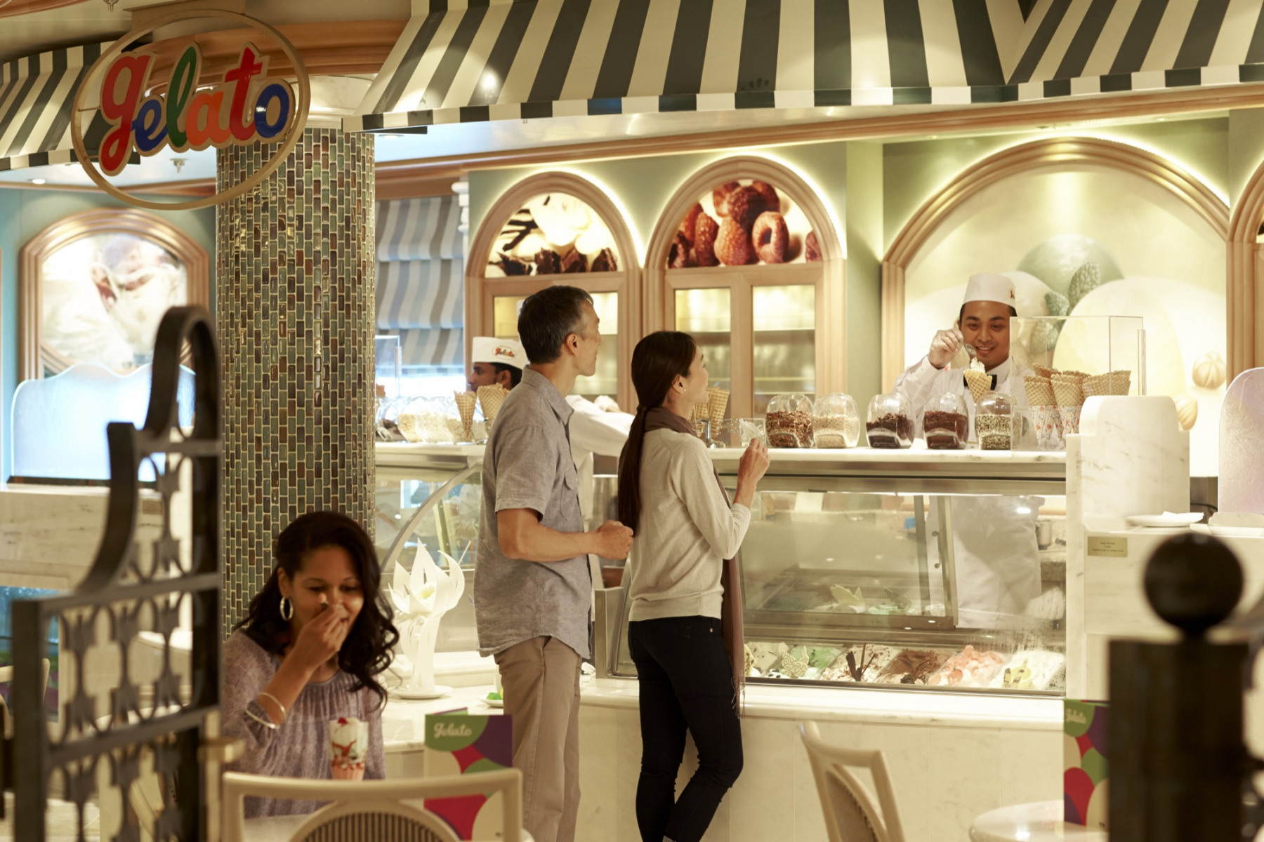 Princess Cruises Coral Class Interior Icecream bar.jpg