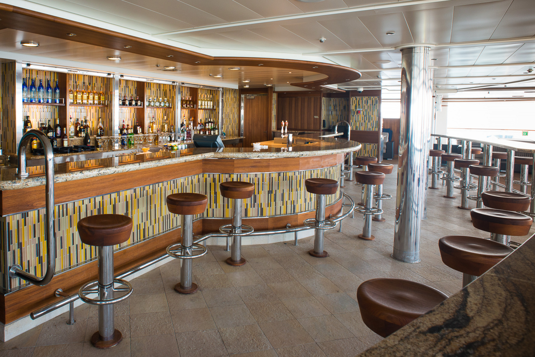 Princess Cruises Grand Class mermaids tail pool bar.jpg