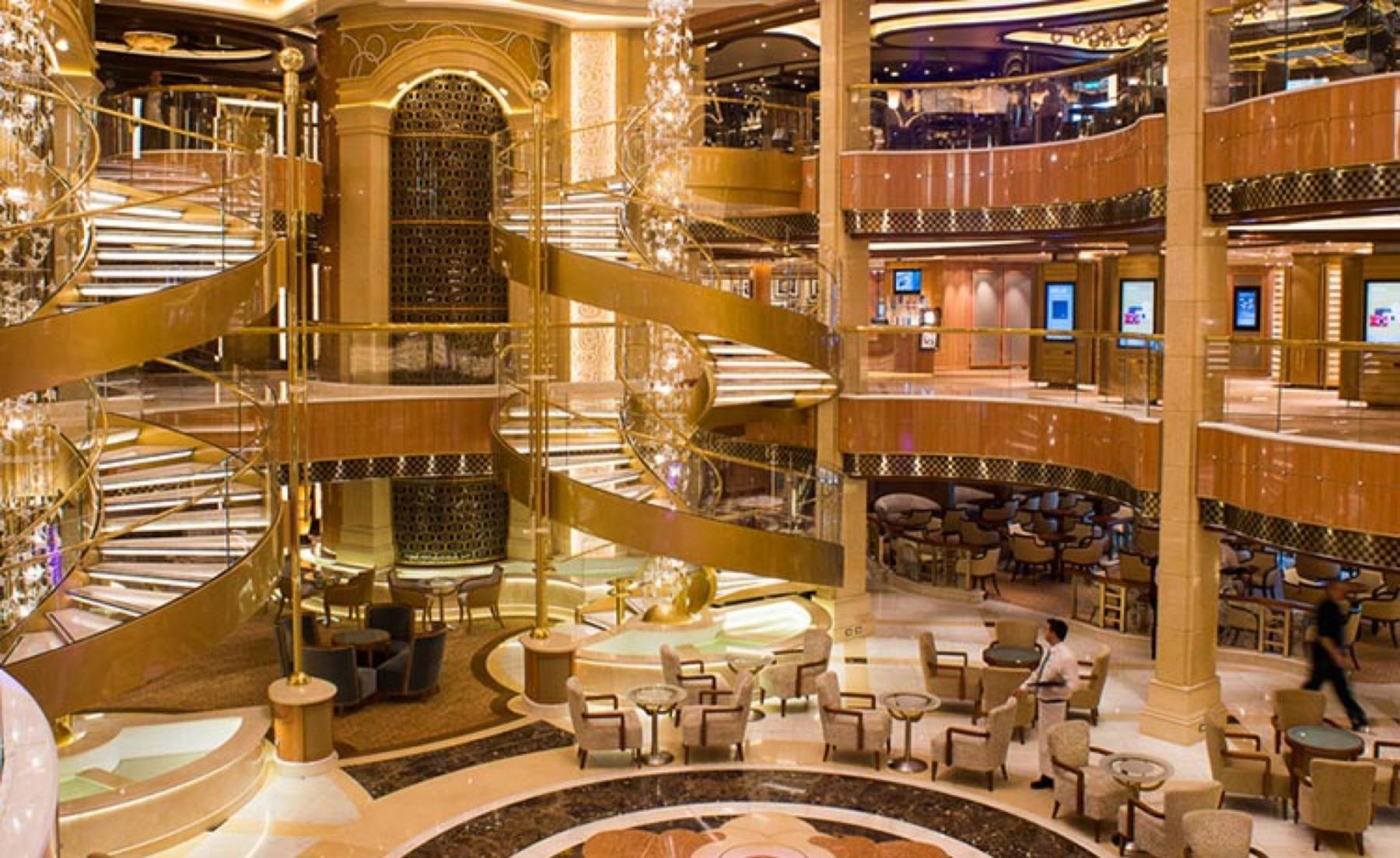 Princess Cruises Royal Class Interior piazza.jpg