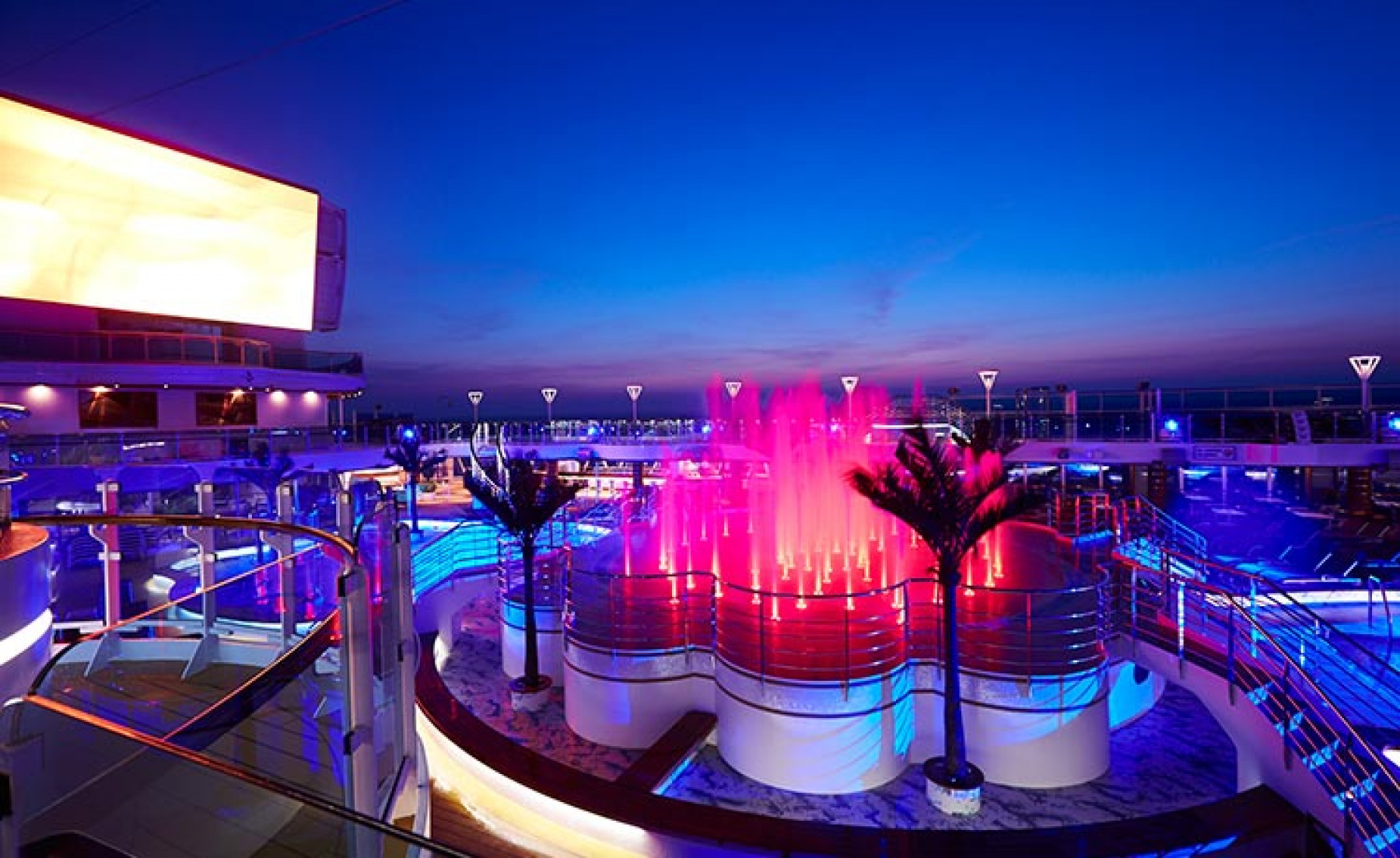 Princess Cruises Royal Class Interior water colour light show.jpg