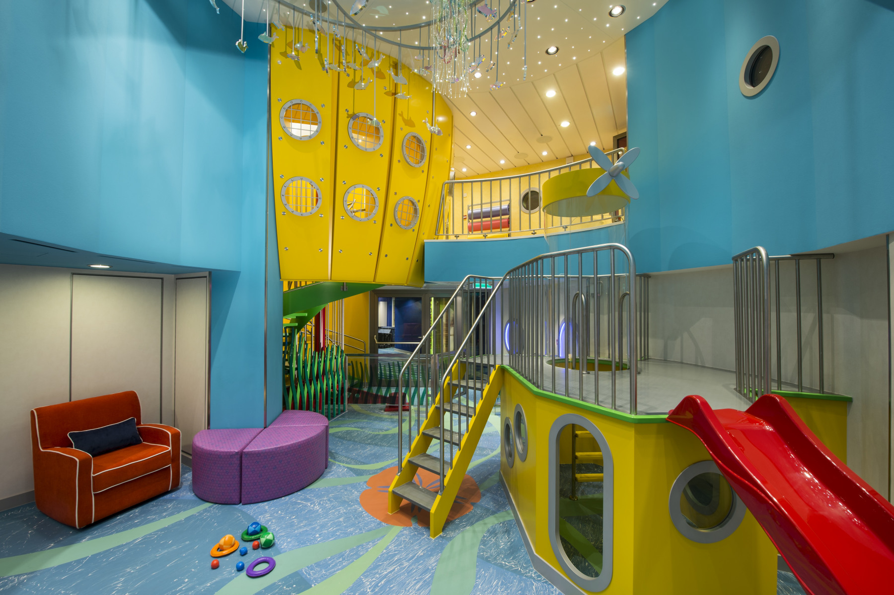 Royal Caribbean International Quantum of the Seas Interior Play Area.jpg