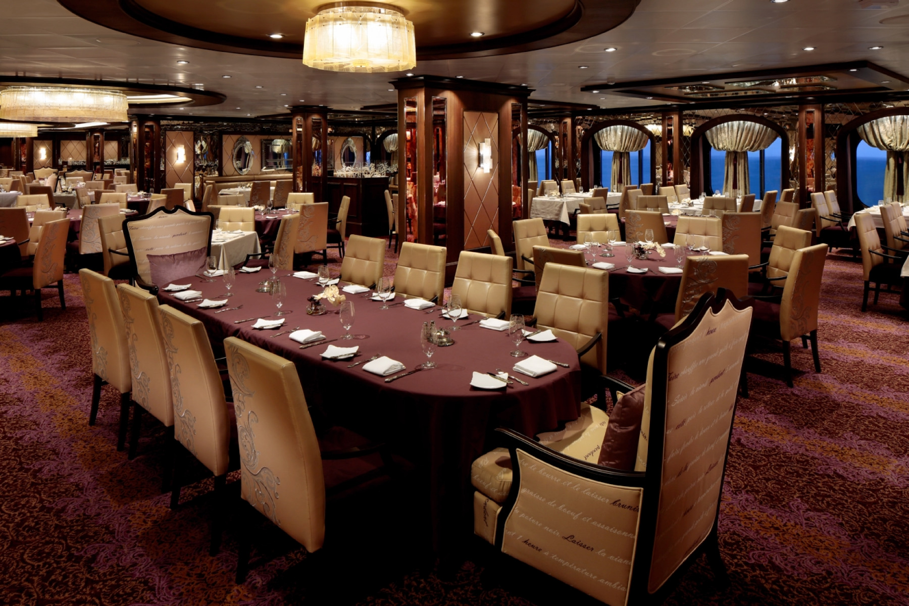 Royal Caribbean International Quantum of the Seas Interior The Grande Restaurant 4.jpg