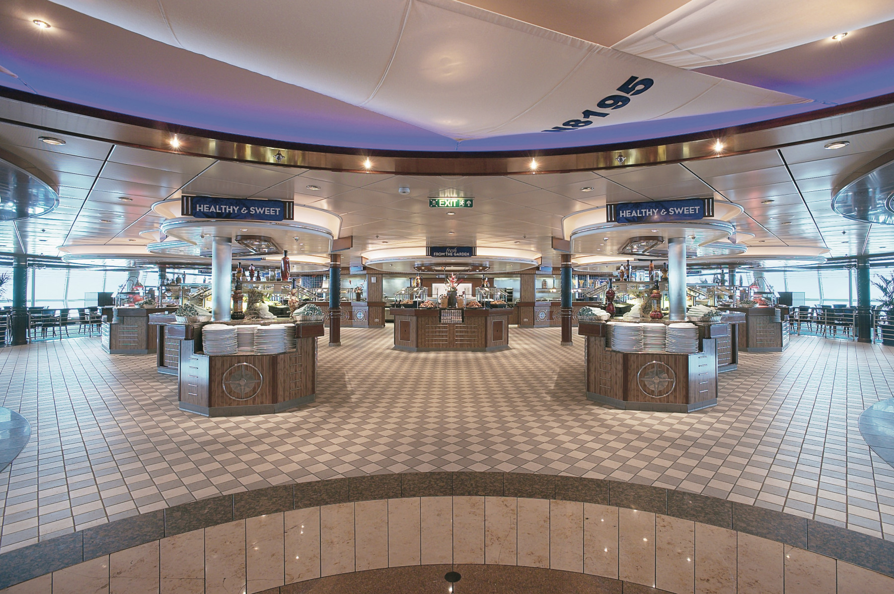 Royal Caribbean International Jewel of the Seas Interior Windjammer 3.jpeg