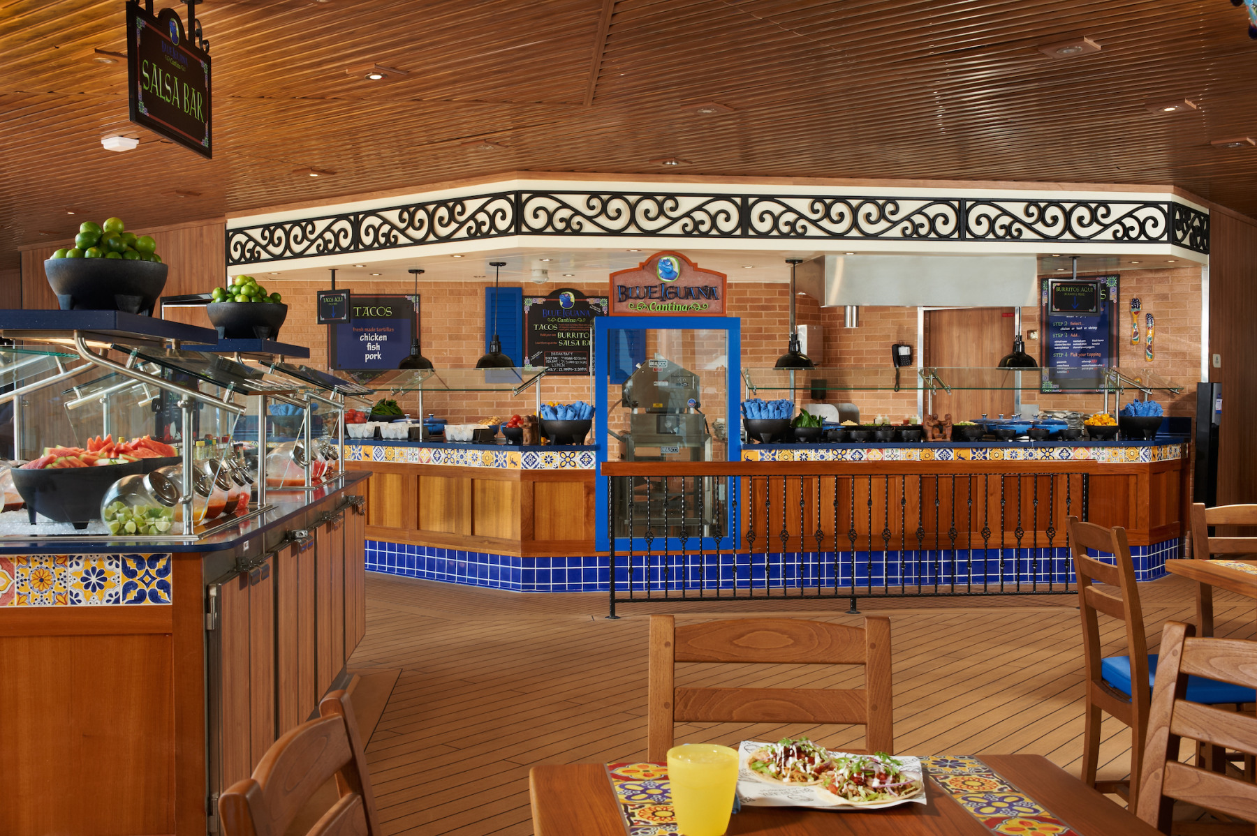 Carnival Cruise Lines Carnival Dream Interior BlueIguana Cantina 1.jpg