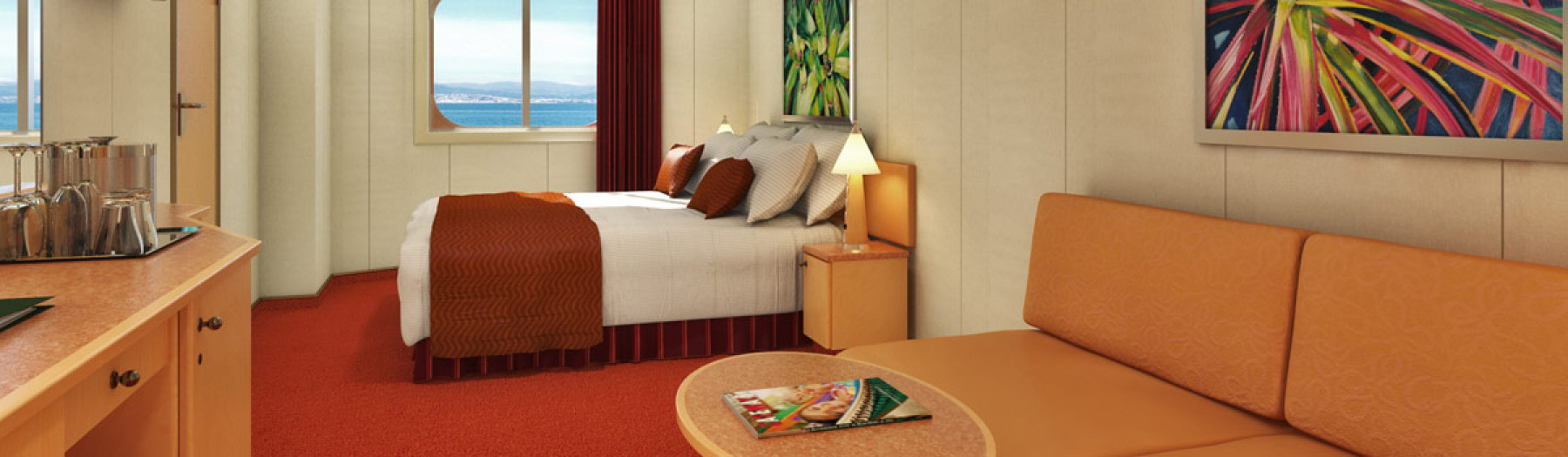 Carnival Cruise Lines Carnival Dream AccommodationOcean View.jpg