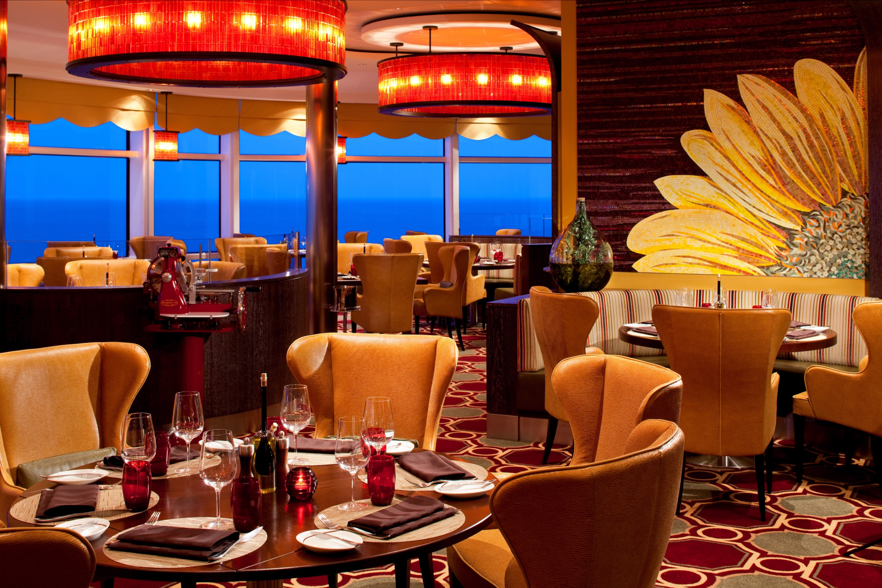 celebrity cruises celebrity eclipse tuscan grille restaurant.jpg