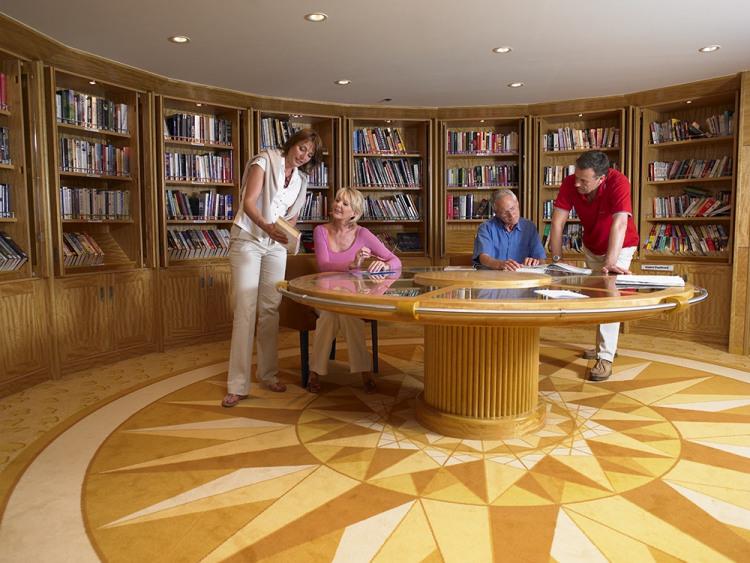 fred olsen cruise lines balmoral library 2014.jpg