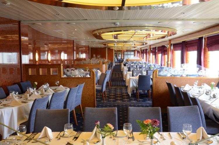 Celestyal Cruises Celestyal Olympia Interior Aegean Restaurant 01.JPG