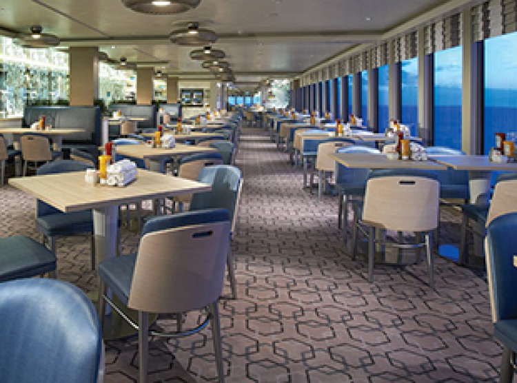 Norwegian Cruise Line Norwegian Breakaway Interior Garden Cafe.jpg