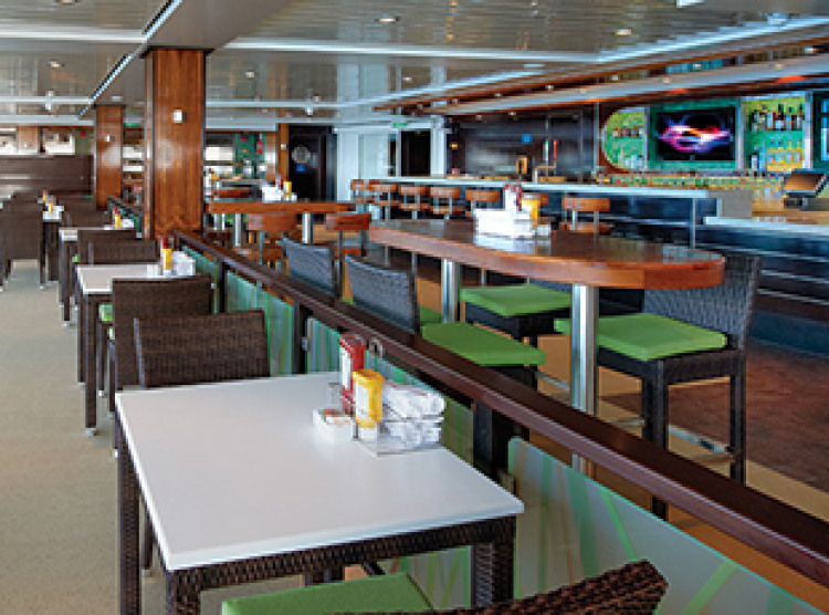 Norwegian Cruise Line Norwegian Breakaway Interior Uptown Bar and Grill.jpg