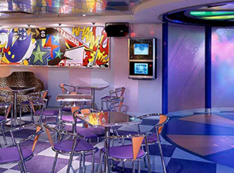 Norwegian Cruise Line Norwegian Dawn Interior Teen Club.jpg