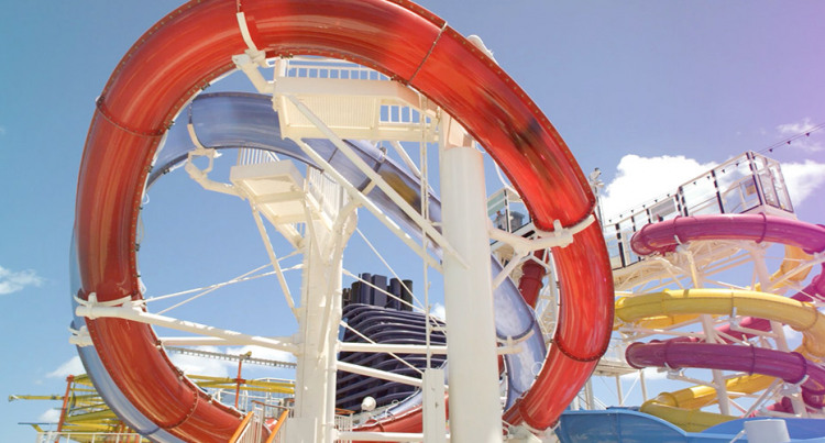Norwegian Cruise Line Norwegian Escape Exterior Aqua Park.jpg