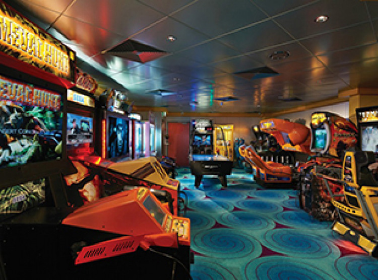 Norwegian Cruise Line Norwegian Jewel Interior Video Arcade.jpg