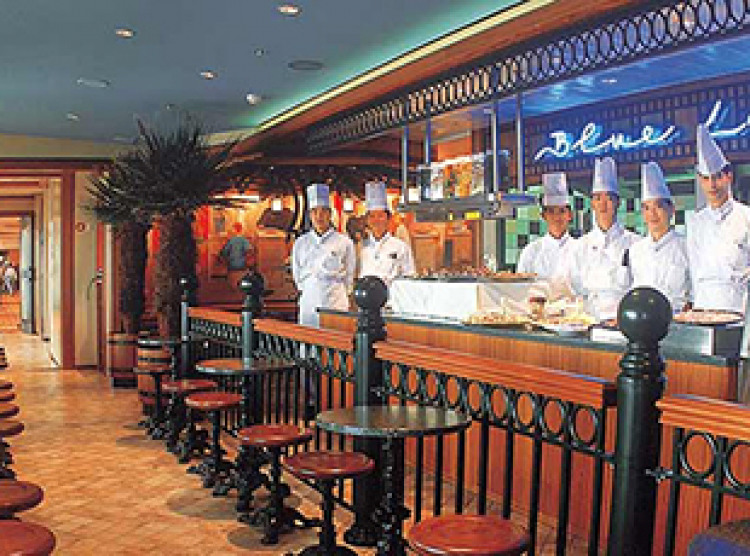 Norwegian Cruise Line Norwegian Spirit Interior Blue Lagoon Cafe.jpg
