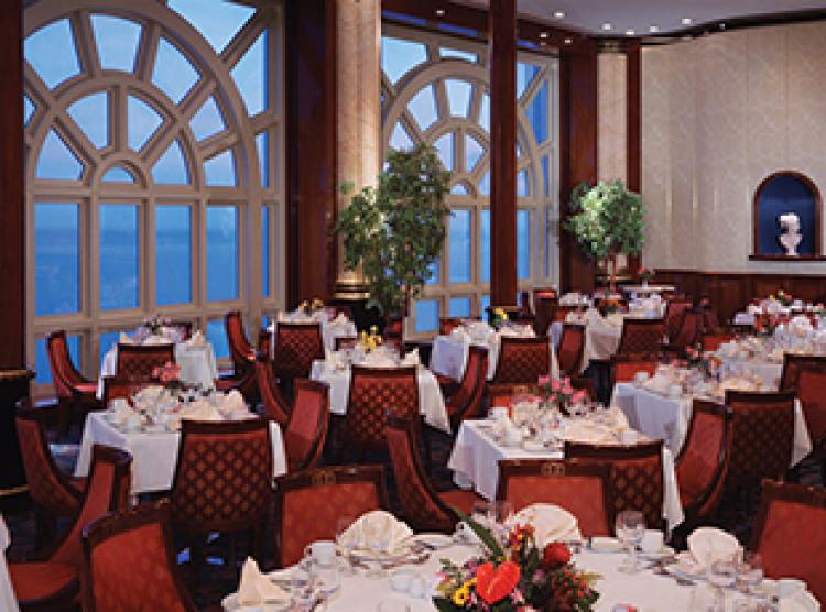 Norwegian Cruise Line Norwegian Spirit Interior Windows Main Dining Room.jpg