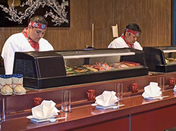 Norwegian Cruise Line Pride of America Interior sushi.jpg
