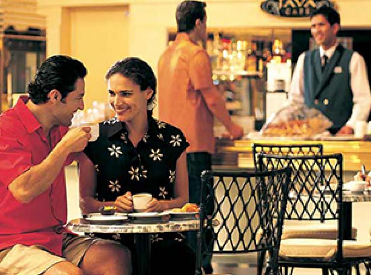Norwegian Cruise Line Norwegian Dawn Interior Cafe at the Atrium.jpg