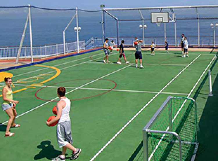 Norwegian Cruise Line Norwegian Jewel Exterior Basketball:Volleyball:Tennis Court.jpg